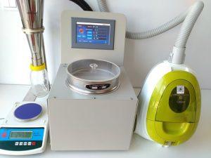 什么是空气喷射筛分法气流筛分仪的筛上物?