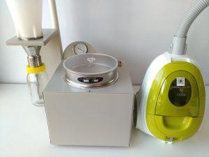 空气喷射筛分法气流筛分仪可以合配合使用用多大的实验室标准筛?